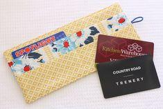 Loyalty Card Wallet Tutorial - A Spoonful of Sugar