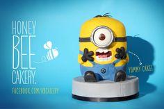 Dave - the Despicable Me Minion Cake
