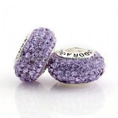 Pandora Purple Crystal Bead. this is beautiful.