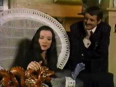 This was one of my favorite Halloween specials when I was a kid, thanks for posting.   Halloween with the New Addams Family (1977) (TV) Comedy, Horror [1 h 14 min] John Astin, Jackie Coogan, Carolyn Jones, Henry Darrow Director: David Steinmetz Writers: Charles Addams, George Tibbles IMDb rating: ★★★★★★☆☆☆☆ 6.0/10 (186 votes)