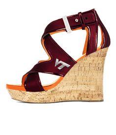 Hokie Heels - Wedge LOVE!!!