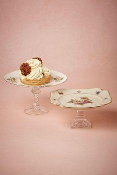 debonair cake, bhldn, cakes, cake stands, aunts, diy idea, candlestick, small, cake plates