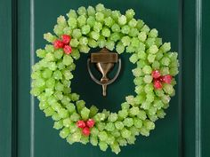 Unique Holiday Wreaths candy