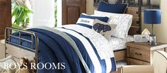 Pottery Barn says this bedding is for boys only (thx @ laura_lawrence!)