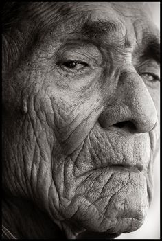 Juan Garcia, age 94 - I bet each line and wrinkle have a story to tell.