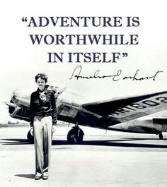adventur, earhart portrait, portrait centerpiec, travel