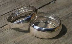 His and Her Coin Rings!