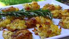 Salt & Vinegar Potatoes with Rosemary