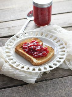 Spiced Cranberry Pear Jam