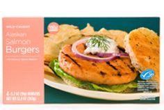 Whole Foods Market Alaskan Salmon Burgers. I don't know about you, but these sounded really good to me and can be easily cooked by baking or you can pan-fry it for a convenient dinner:) Sourced from the waters of Alaska, the salmon is MSC-certified (Marine Stewardship Council) and carefully selected to make only the best quality burgers! #greendorm