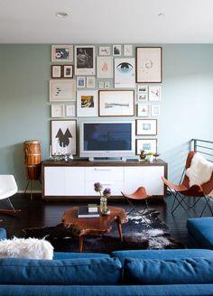 Décor do dia: sala de tv com estilo