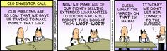 That's only fiction, of course. #Dilbert