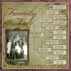 family tree page