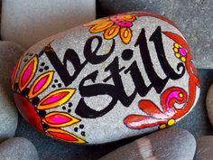 Be Still / Painted Rock / Sandi Pike Foundas / Cape Cod