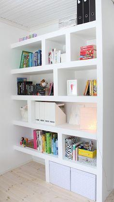 great bookcase #StorageMart #OrganizeIt