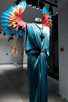 Lanvin windows, Paris visual merchandising