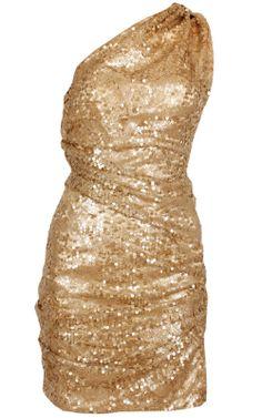 Lorenza Gold Dress by DIVA SOPHIA @girlmeetsdress