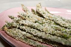 Crispy Parmesan Asparagus Fries