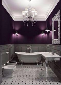 Gothic Bathroom on Pinterest