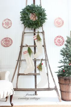 FRENCH COUNTRY COTTAGE: Getting ready for the Holidays
