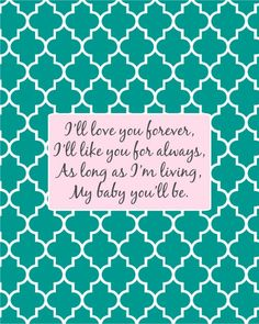 love you forever.