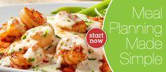 Seared Cajun Shrimp with Lemon Butter Sauce | eMeals