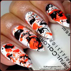 Sassy Paints: Splatter Nails