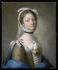 Mrs. Garrick, Rad, Katherine (Catherine Read), about 1755, Pastel. Bequeathed by Mrs M. V. Cunliffe.