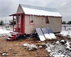 A Tiny Dream Home in Colorado - DIYCozyHome.com