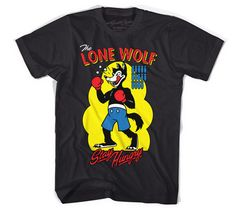 Lone Wolf Black tees shirts