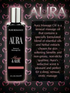 Aura - Pure Romance by Lisa Rosengrant  607-621-3025