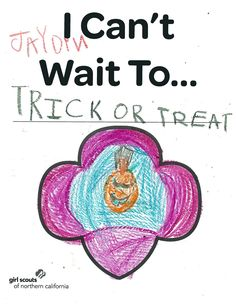 www.girlscoutsnorcal.org/join  #icantwaito #halloween #trickortreat