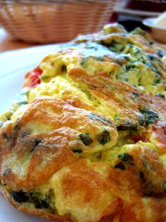 Veggie Omelet  from juice pulp