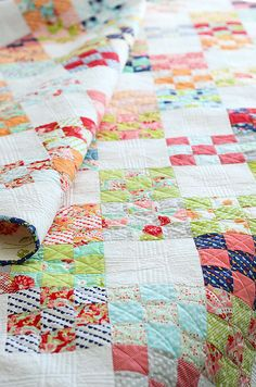 niner quilt by croskelley, via Flickr