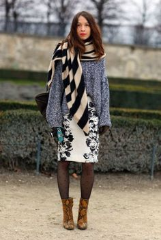 4 Chic Ways To Wear A Fall Essential: The Scarf