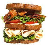 A well made sandwich.