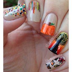 HALLOWEEN  by vjcnails   #nail #nails #nailart