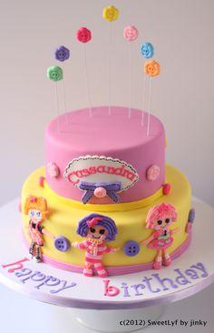 Lalaloopsy_Cake_Front lalaloopsy, happy birthdays, cake idea, cake decor, amaz cakescupcak, buttons, lalaloopsi parti, cookies, lalaloopsi cake