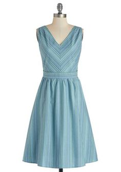 Sightsee What I Mean Dress, love the blue #ModCloth