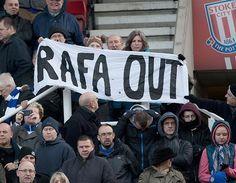 Kesabaran Benitez di Chelsea Akhirnya Habis