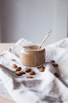 homemade almond butter.