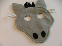 1000 ideas about donkey mask on pinterest donkey for Donkey face mask template