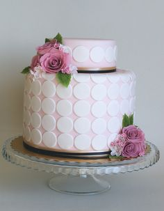 Rose cake by bubolinkata