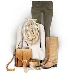 """Soft Tan"" by cynthia335 on Polyvore"