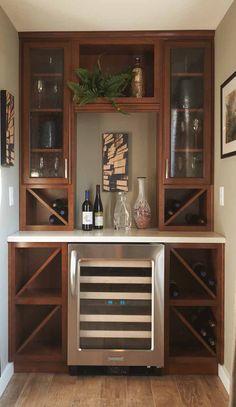 A wine lover's dream. #winestorage