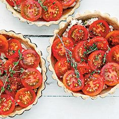Tomato-and-Goat Cheese Tartlets |