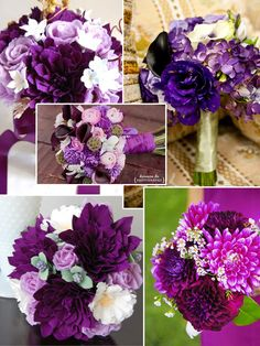 purple dahlia bunch - LOVE!! I wonder about the pricing of dahlias though?