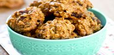 Straight from the pages of my newest eBook, The #EatCleanDiet for #Family & #Kids! Grandma's #Oatmeal #Cookies >> one of 40+ delicious, #kidfriendly #EatClean recipes! #eatingclean #cleaneating #toscareno #eatcleancookies #oatmealcookies #cookierecipe #cleancookies #recipe #eatcleanrecipe #eatcleandietrecipe #eatcleantraindirty #eatcleankids #cookiemonster