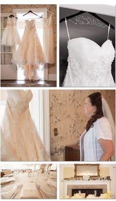 Dress details at the Longacre House Farmington Hills, MI