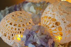 doily lamps! so pretty! i can't wait to make them